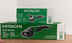 Hitachi 'twin pack' Grinder Set