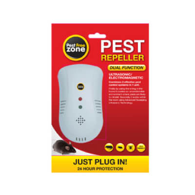 Pest Free Zone Dual Function Pest Repeller - Watson Hire