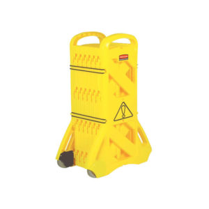 Portable Mobile Barrier Yellow