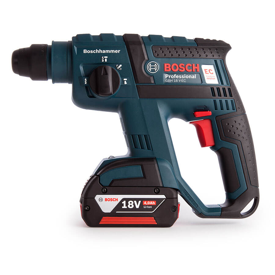 bosch gbh18v e cordless rotary hammer drill watson hire. Black Bedroom Furniture Sets. Home Design Ideas