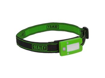 Sealey 2W COB LED Rechargeable Head Torch
