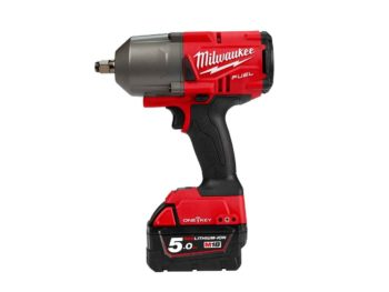 Milwaukee M18ONEFHIWF12-502X 18v 2x5Ah Fuel 1/2in Impact Wrench Kit