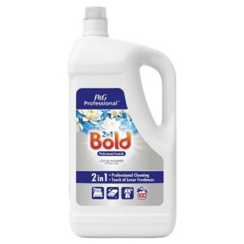 Bold Professional Liquid Detergent Lotus Flower & Water Lily 5 Litre 100 Washes