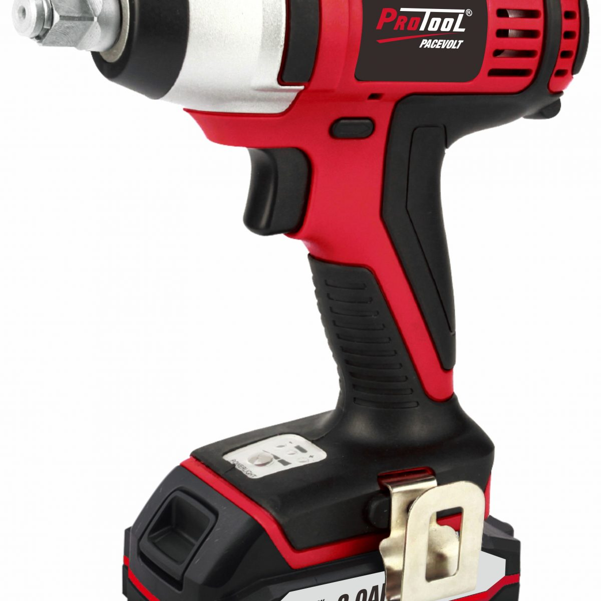 PROTOOL 20V CORDLESS IMPACT WRENCH WITH 2 X 2AH BATTERIES